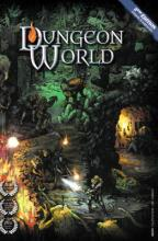 Couverture du livre de base de Dungeon World